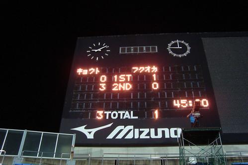 2014/07 J2第23節 京都vs福岡 #01