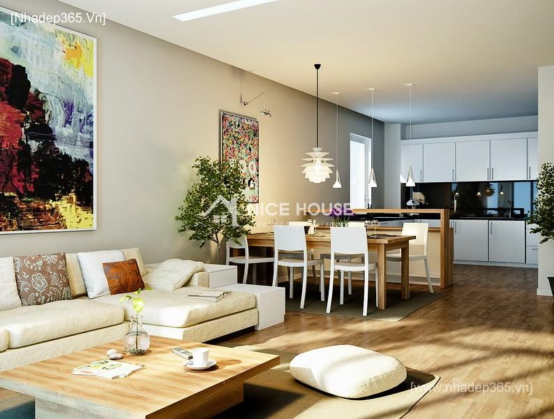 Thiết kế nội thất chung cư M5 - Mr Tiến_5