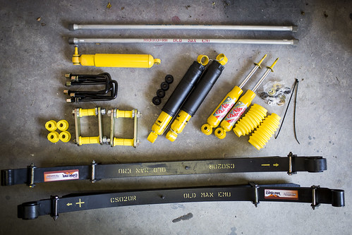 Photo3 _ The complete Old Man Emu suspension system ready for install _ Photo by Richard Giordano
