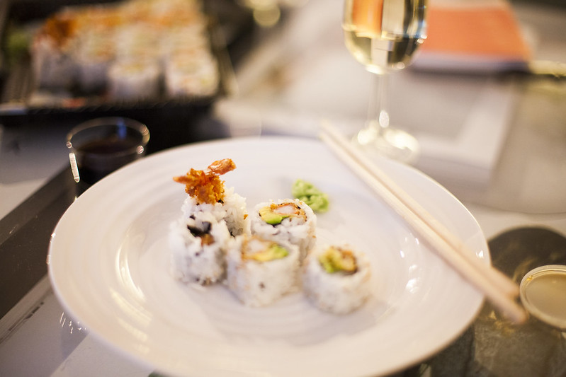 Sushi + Cava