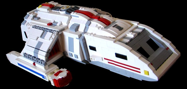 (Star Trek) Custom LEGO® Runabout (01)