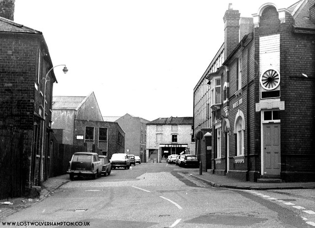 Looking up Corn Hill from the old bridge circa late 1960's.