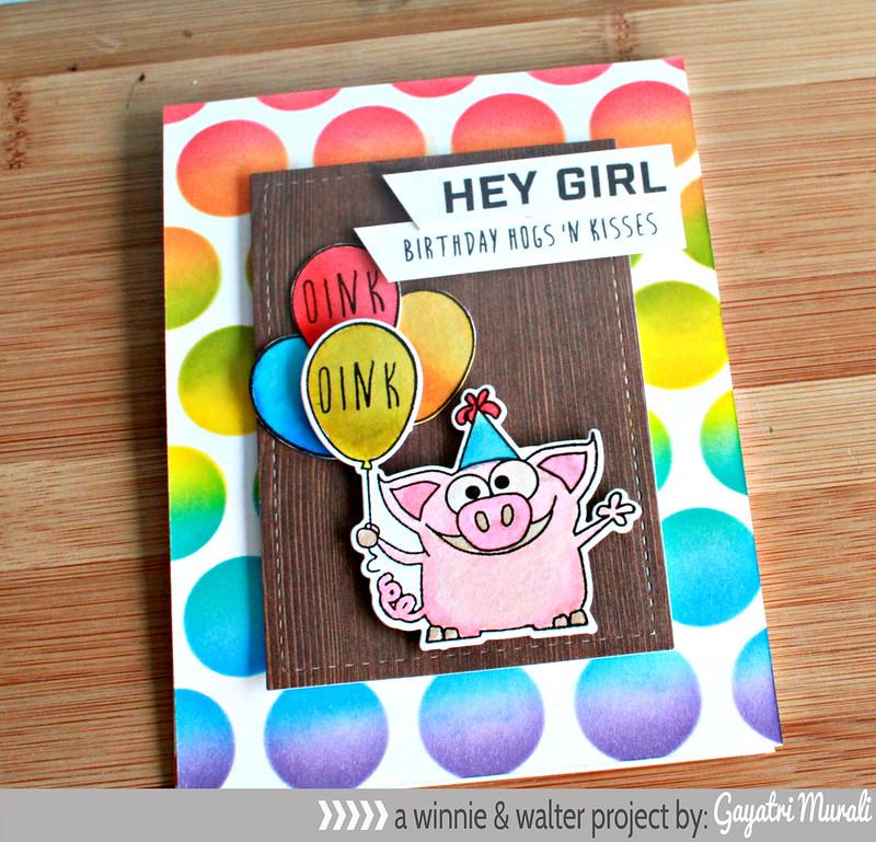 Hey girl horizontal card