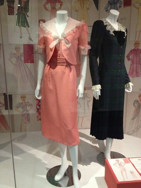 Princes Diana's Going Away Outfit