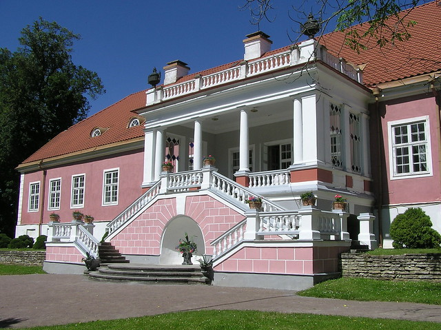 Sagadi manor, back side