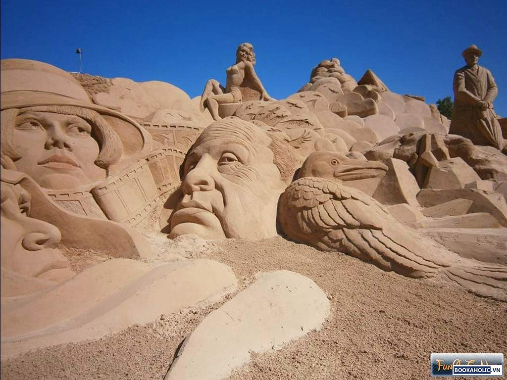 International Sand Sculpture Festival - Portugal 2