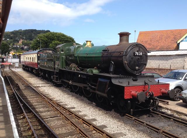 Minehead Steam Railway Engine