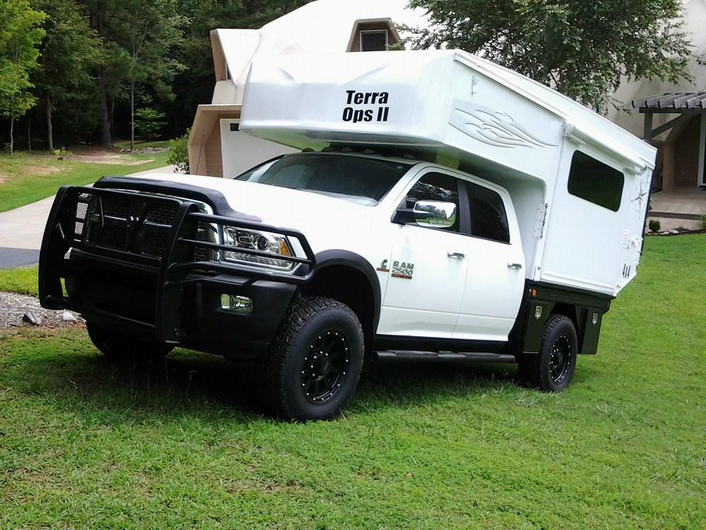 Flat Bed Pop Up Camper