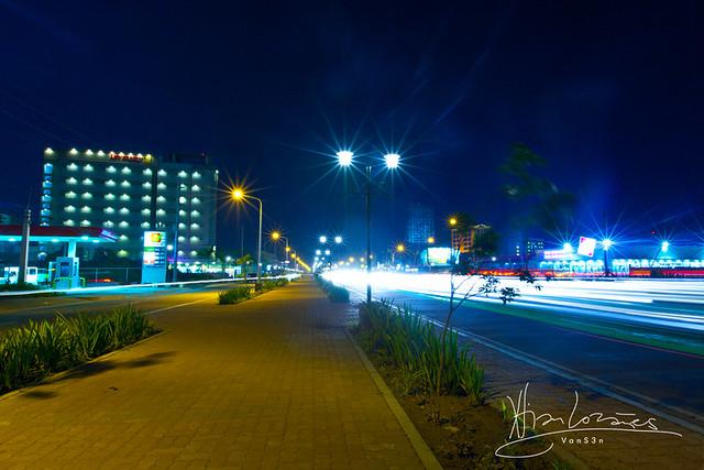 VanS3n-08092014- Long Exposure - Diversion Road, Iloilo City -0007