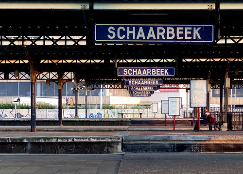 Schaerbeek Railroad Station - Gare de Schaerbeek