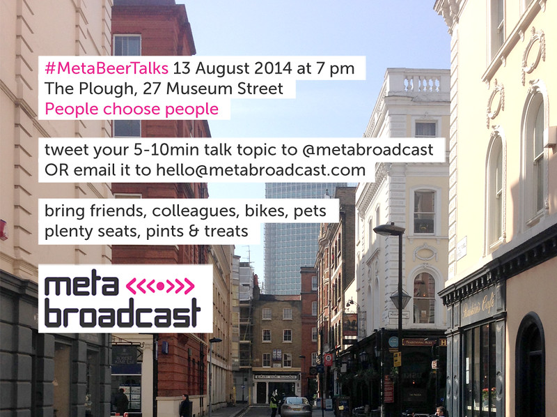 #MetaBeerTalks august 2014