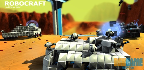 Robocraft home