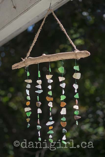 sea glass mobile-2