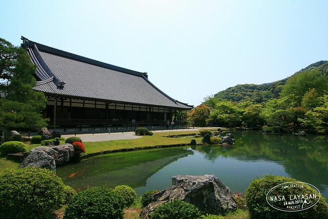 Tenryū-ji, Kyoto, Japan