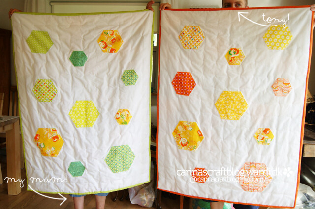 Quilts for my niece and nephew