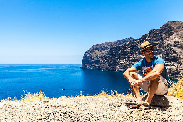 Chilling at Los Gigantes (Tenerife, Canary Islands)