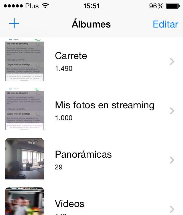 Mis fotos en streaming