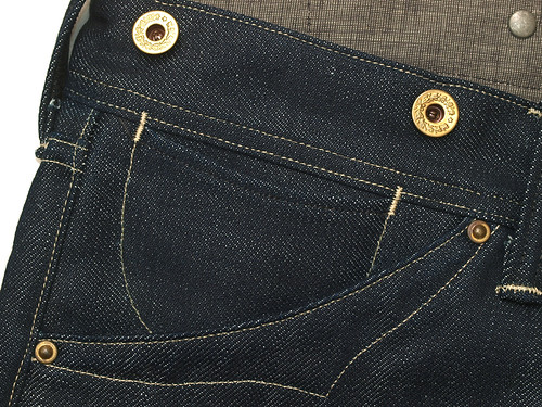 RRL / Empire Buckle-Back Jean