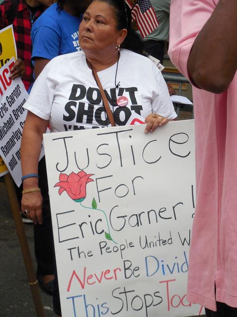 Rev. Al Sharpton Leads March, Rally Over Eric Garner's Death On Staten Island from Flickr via Wylio