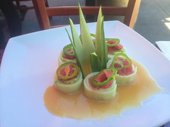 Tuna & Jalepeno Cucumber Roll at Sushiya on Su…