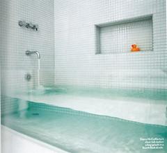 baignoire invisible