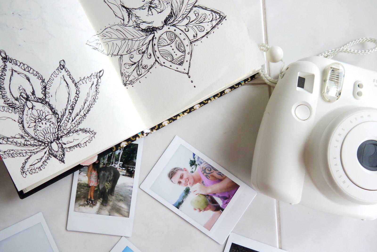 Instax Mini 8 / Journal - Kirsty Wears Blog