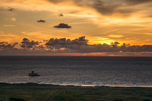 ocean park travel sunset red sky travelling tower car clouds landscape jersey channelislands larocco labraye