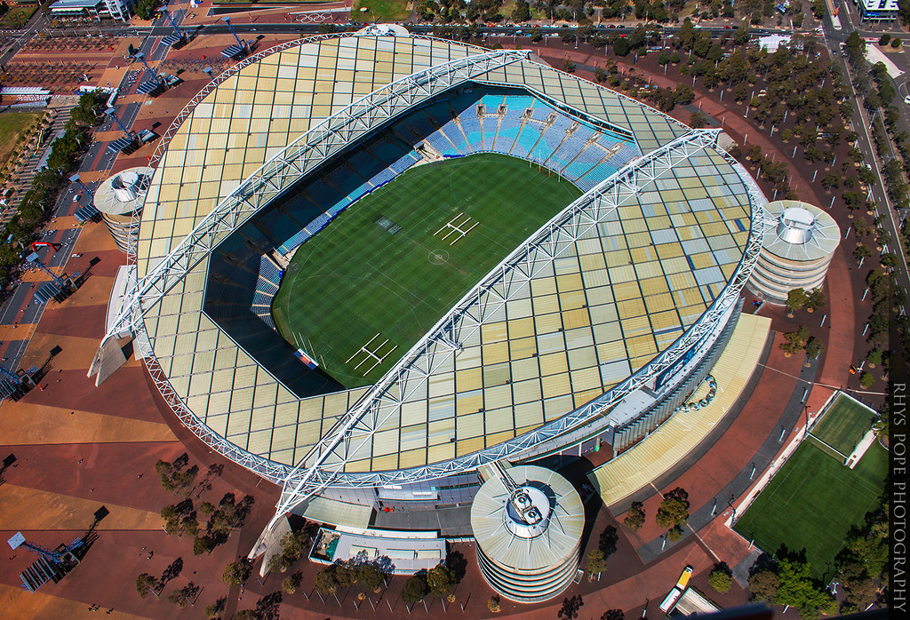 ANZ Stadium || SYDNEY OLYMPIC PARK || AUSTRALIA