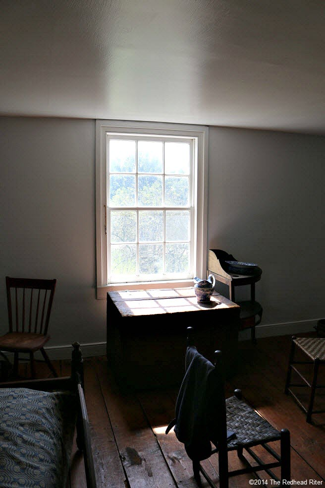 upstairs room - Stonewall Jackson Died In Guinea, Virginia