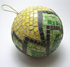 mosaic ornament ball