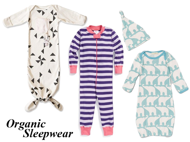 baby shower gift ideas, organic cotton, sleepsack and footies
