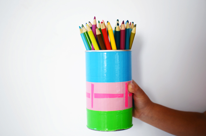 duct tape canister
