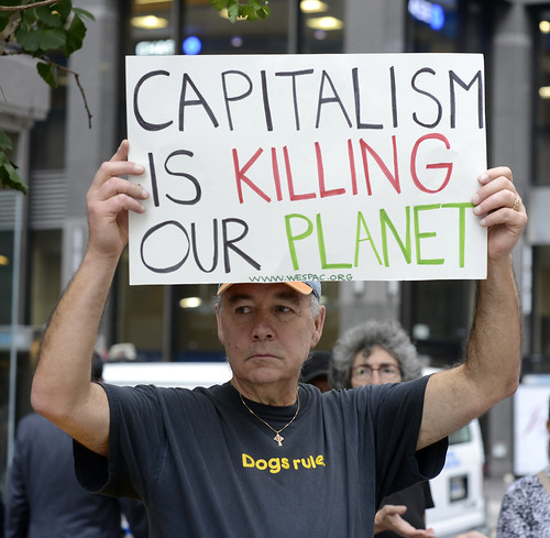 2014 People's Climate March NYC 7-Capitalism Is Killing Our Planet