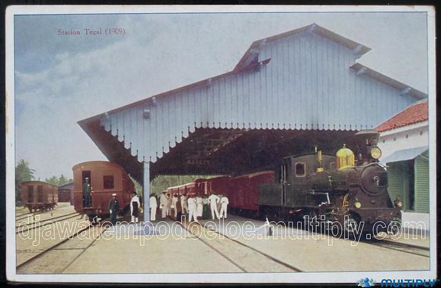 Stasiun Tegal 1909