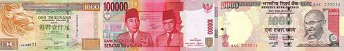 Asian banknotes1