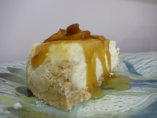 Caramel Apple and Sweet Cream Cheesecake