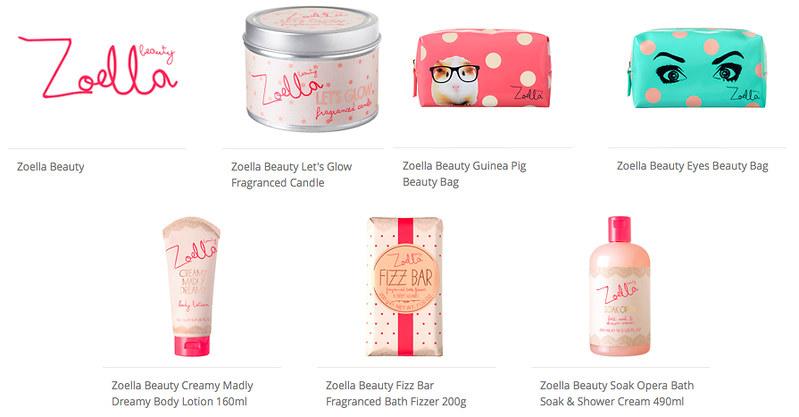 zoella beauty range