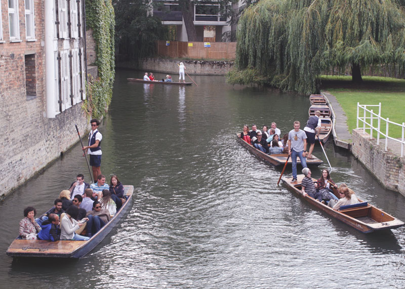 punting on the river uk, Bumpkin betty