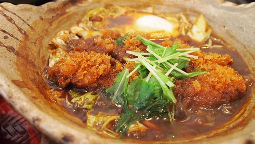 大戸屋『四元豚ロースの味噌かつ煮定食』