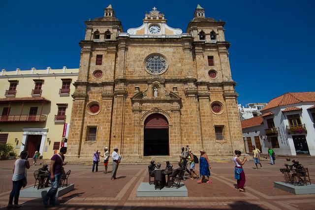 Iglesia de San Pedro Claver, Cartagena, Colombia