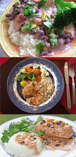 Easy Recipes Crock-Pot Chicken With Black Beans & Cream Cheese