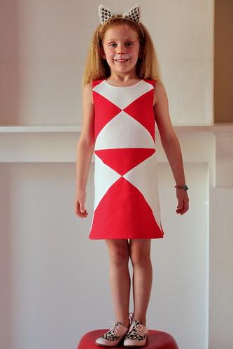 cheetara in een jurk