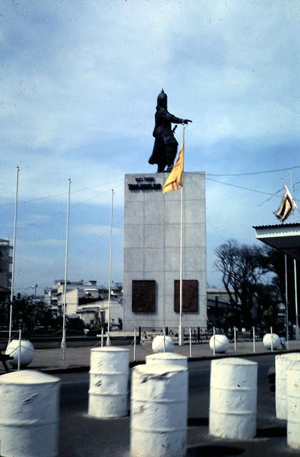 SAIGON 1968-69 - Tượng Trần Hưng Đạo, Công trường Mê Linh