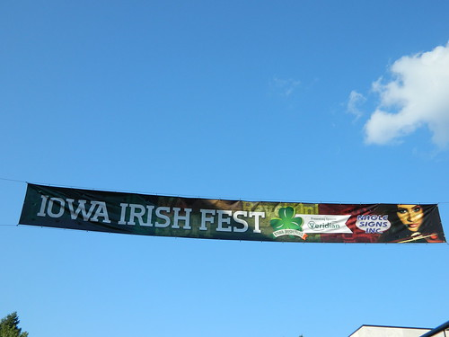 Iowa Irish Fest banner