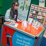 Casting a vote in our First Book Award |