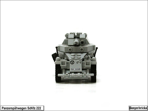 Leichter Panzerspähwagen SdKfz 222 de Panzerbricks