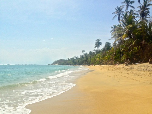 La Piscina beach, Tayrona