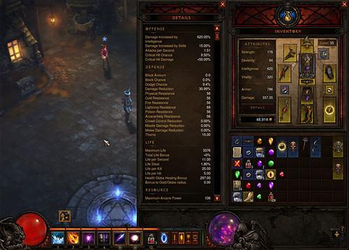Diablo 3 - inventaire