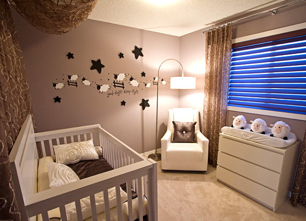 Modern-sheep-themed-nursery