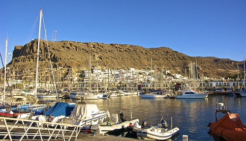 """little Venice"" of Gran Canaria — at Puerto de Mogán"